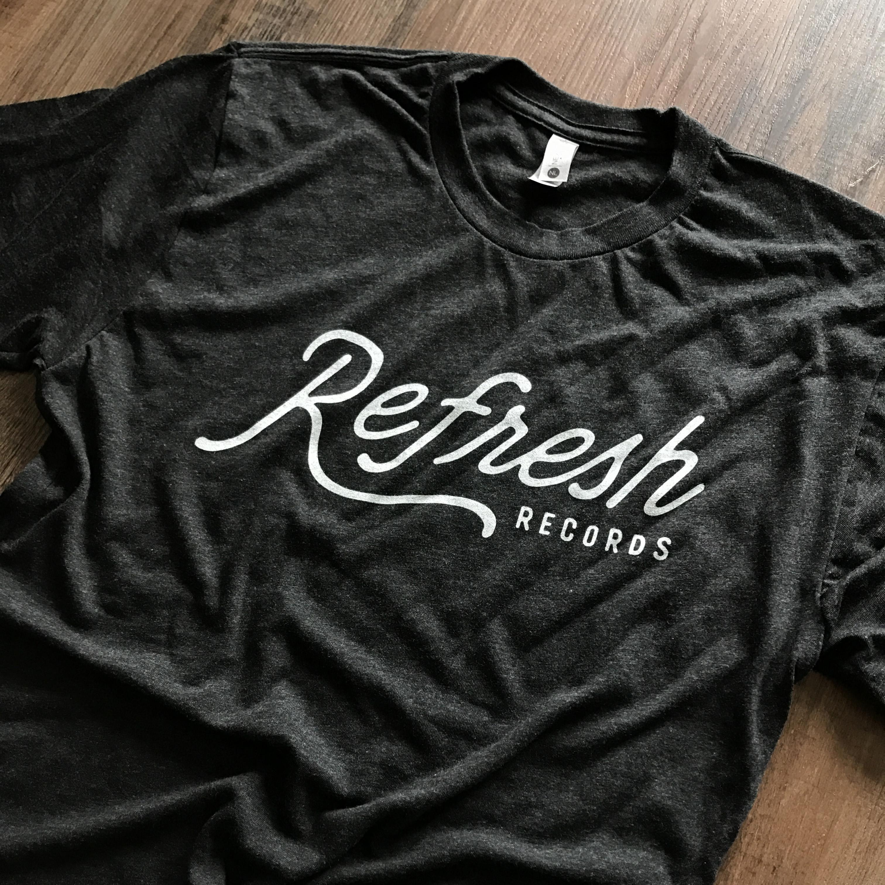 Refresh Records - Vintage Script