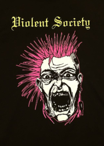 Violent Society - Punk T-shirt