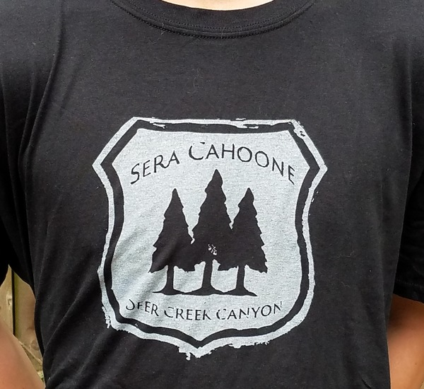 Sera Cahoone Deer Creek Canyon t-shirt