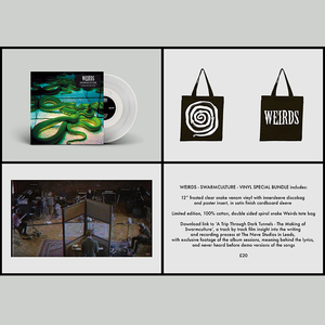 Weirds – Swarmculture 12�/CD, Bag and Film: Rattlesnake Bundle
