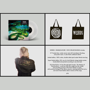 Weirds – Swarmculture 12�/CD, Leather Jacket, Bag and Film: Python Bundle