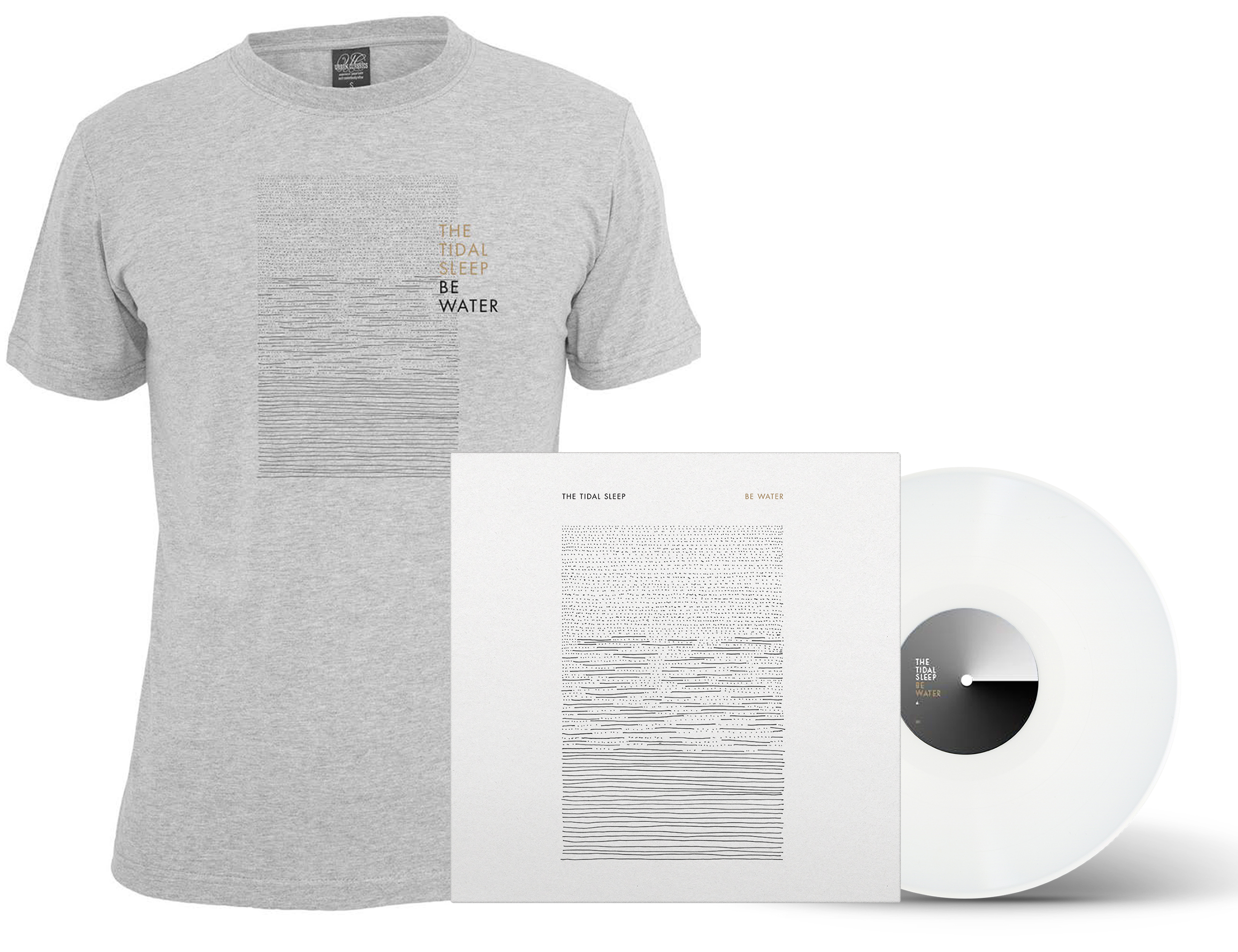 The Tidal Sleep - Be Water shirt + LP