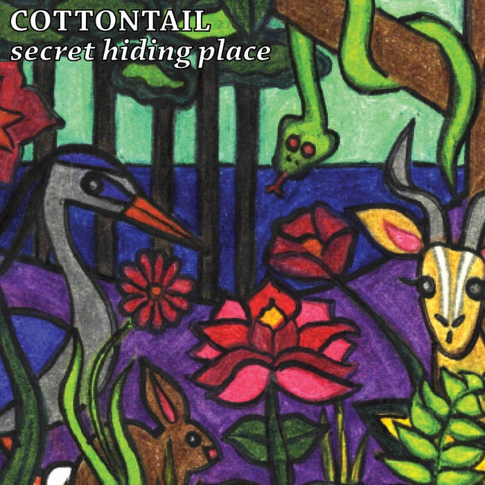 Cottontail - Secret Hiding Place (cassette)
