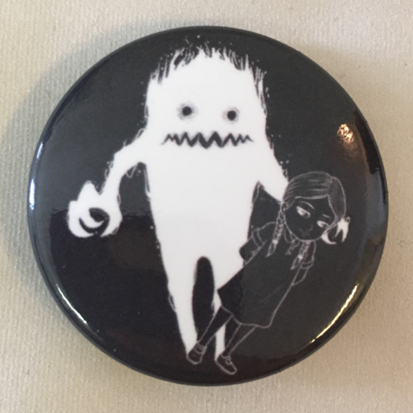 Pretty Little Monster Button