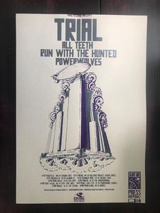 Trial / RWTH / All Teeth / Powerwolves Tour 2012 Poster