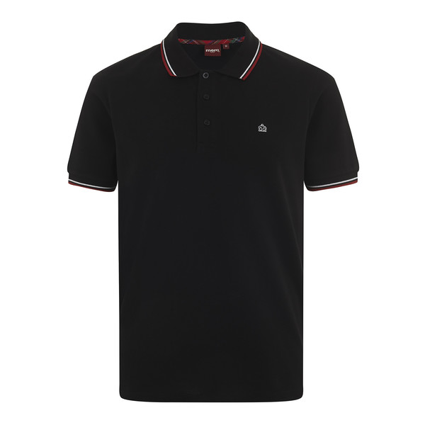 MERC Card Polo Shirt-Black