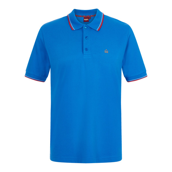 MERC Card Polo Shirt-New Royal