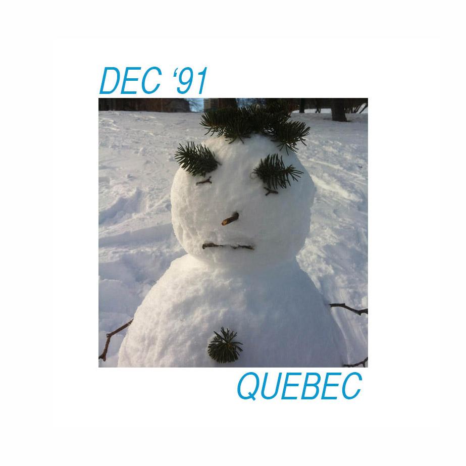 Dec '91 - Quebec