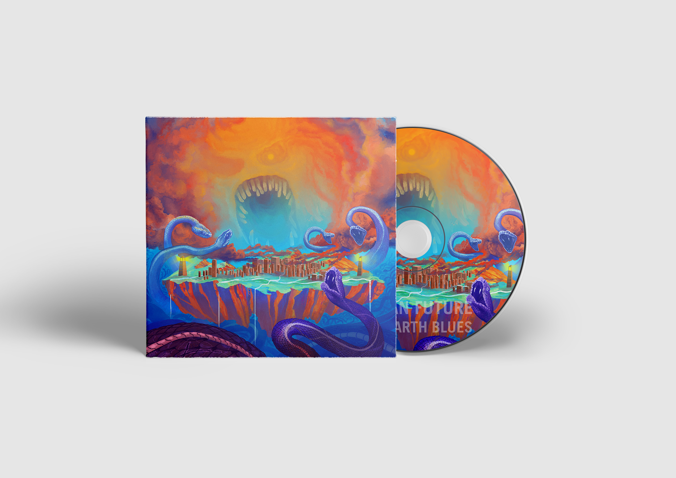 Human Future - Flat Earth Blues Digipak CD