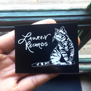 Lauren Records - Cat Sticker 3-Pack