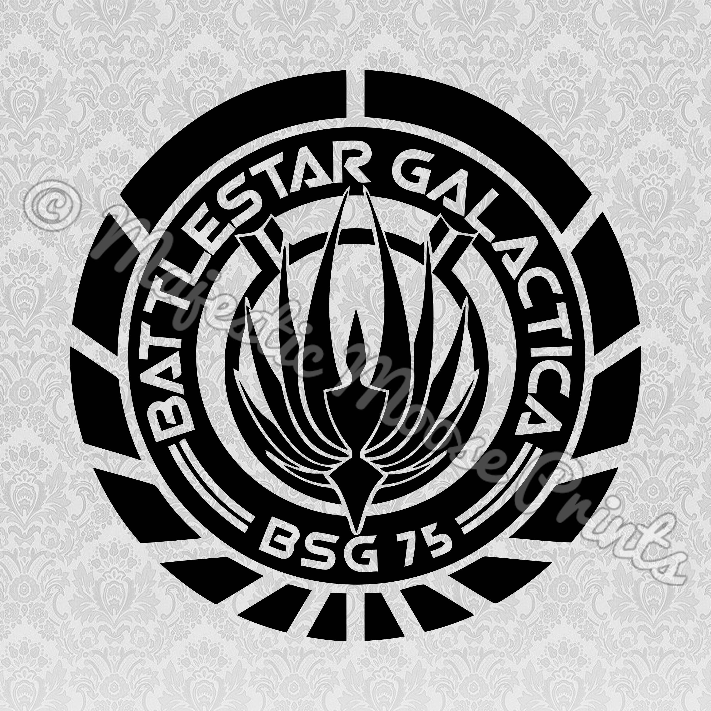 Battlestar Galactica SVG