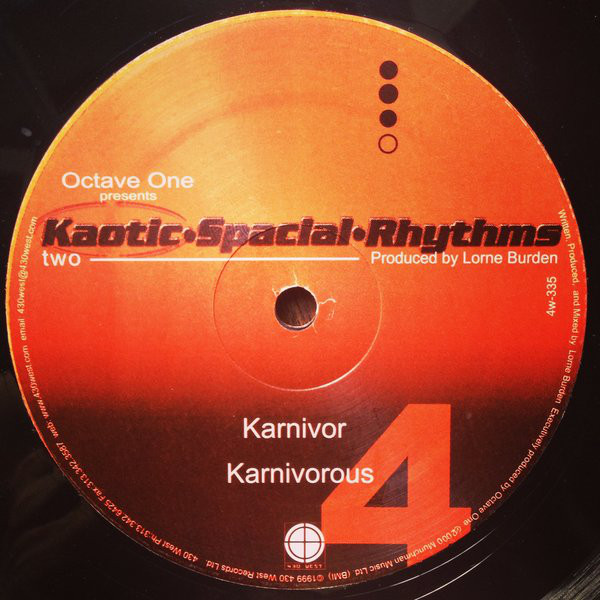 Octave One Presents Kaotic Spacial Rhythms: Kaotic Spacial Rhythms Two - Dissident (430 West)