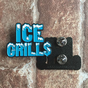 ICE GRILL$ - Logo Pin