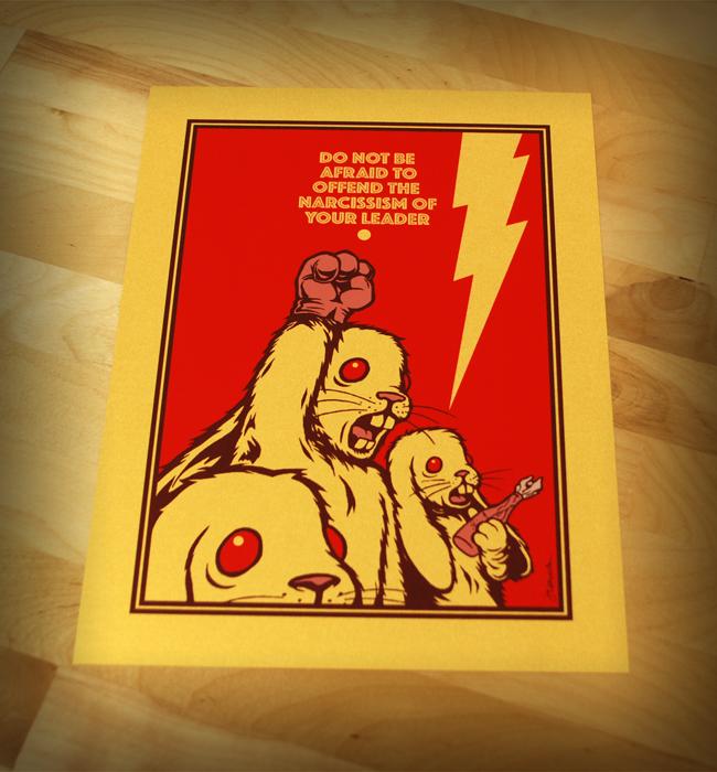 NEW - 'Don't Be Afraid...' Mini Art Print