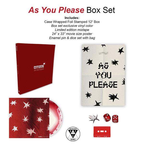 Citizen - As You Please Boxset