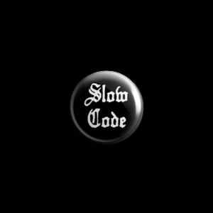 Slow Code - Logo Button