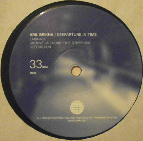 Aril Brikha ‎– Deeparture In Time  LP 2 x 12