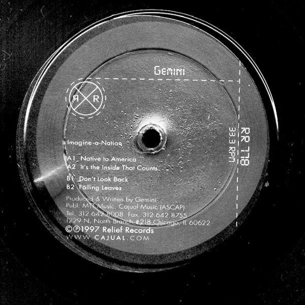 Gemini: Imagine-A-Nation LP 2 x 12