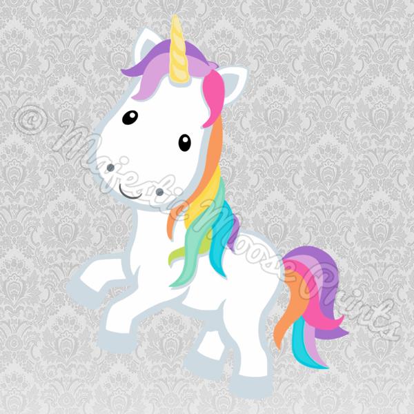 Rainbow Unicorn SVG - Majestic Moose Prints