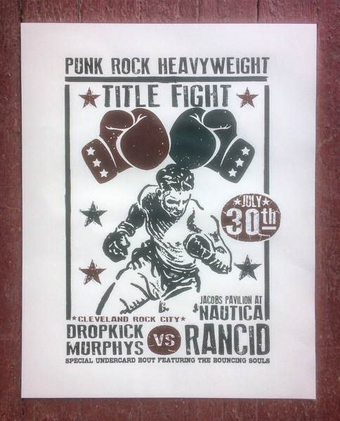 Punk rock title fight!