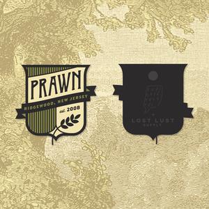 Prawn - Crest Enamel Pin
