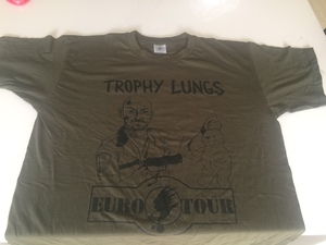 Trophy Lungs EU tour T-shirt