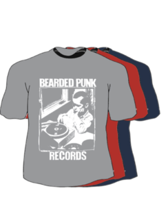 Bearded Punk Records Shirt