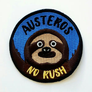 Austeros - No Rush - Embroidered Patch & Download