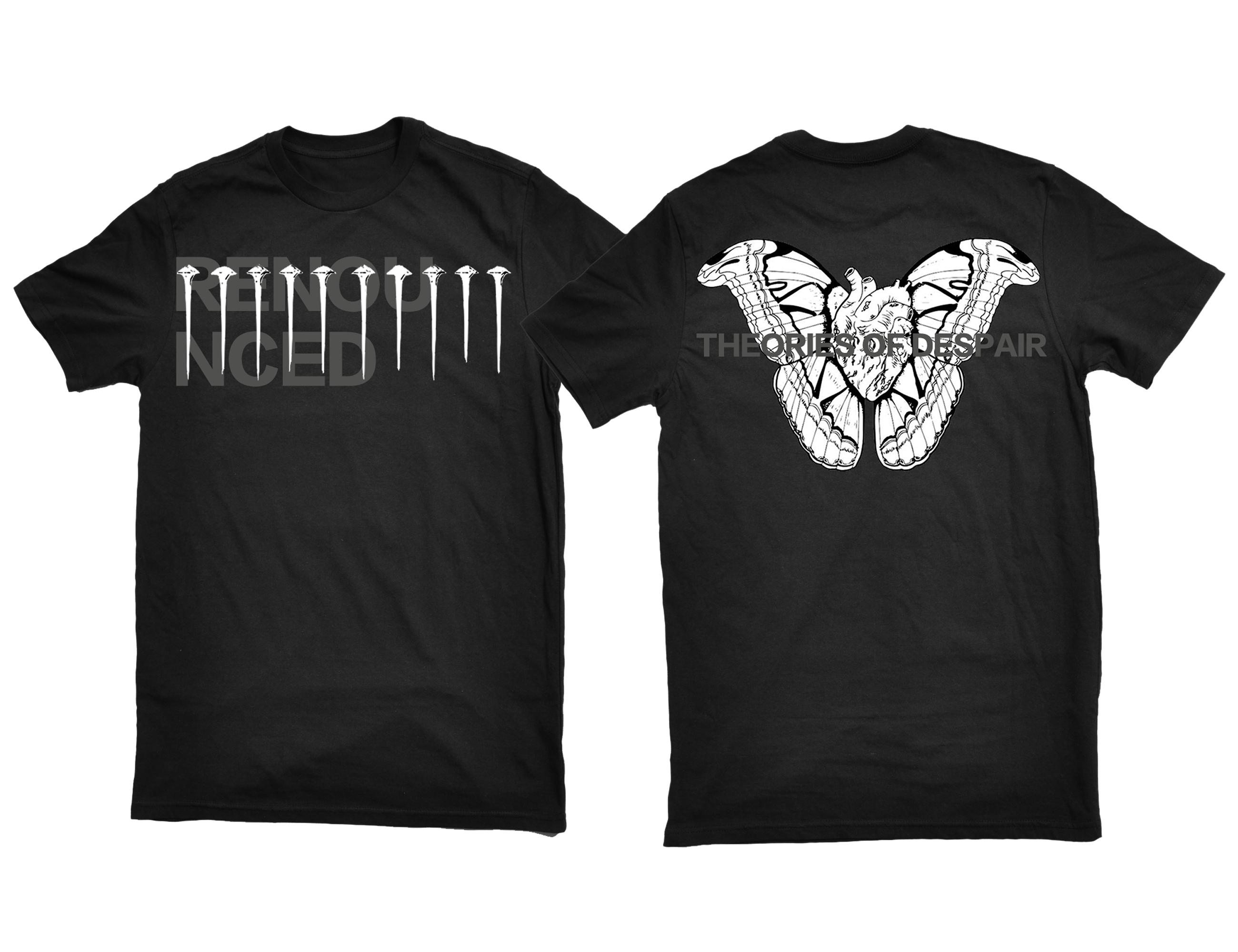 Renounced - Theories Of Despair shirt