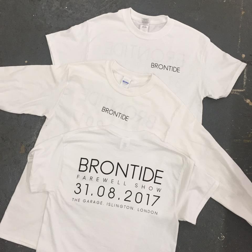 Brontide farewell show merch