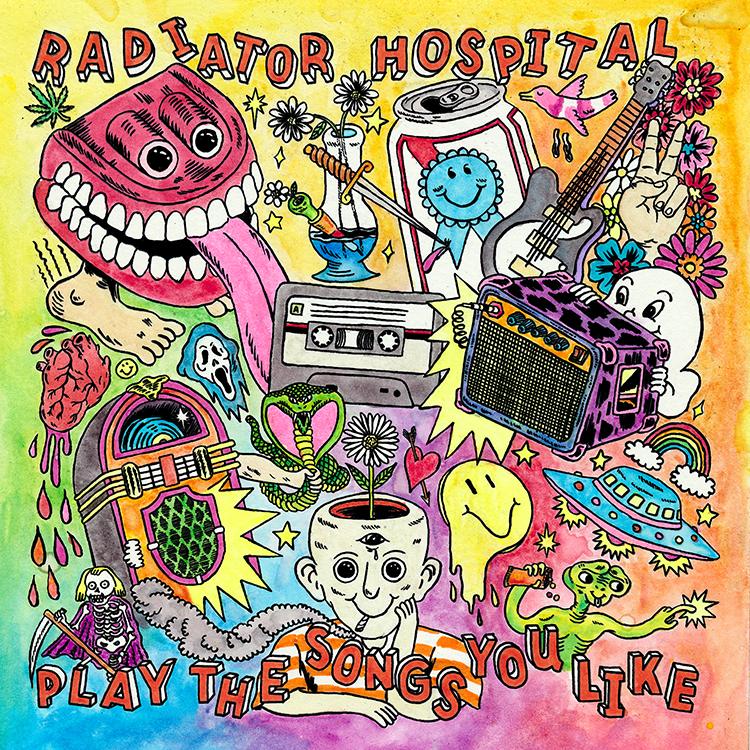 Radiator Hospital - Play the Songs You Like LP