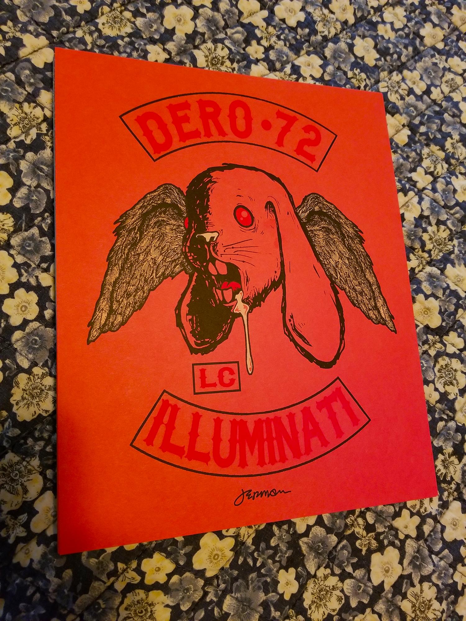 *New* 'COLORS (Dero72)' Mini Art Print (VARIANTS)