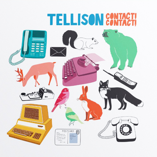 Tellison - Contact! Contact! LP
