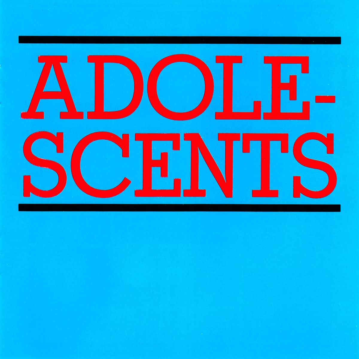 Adolescents- s/t LP