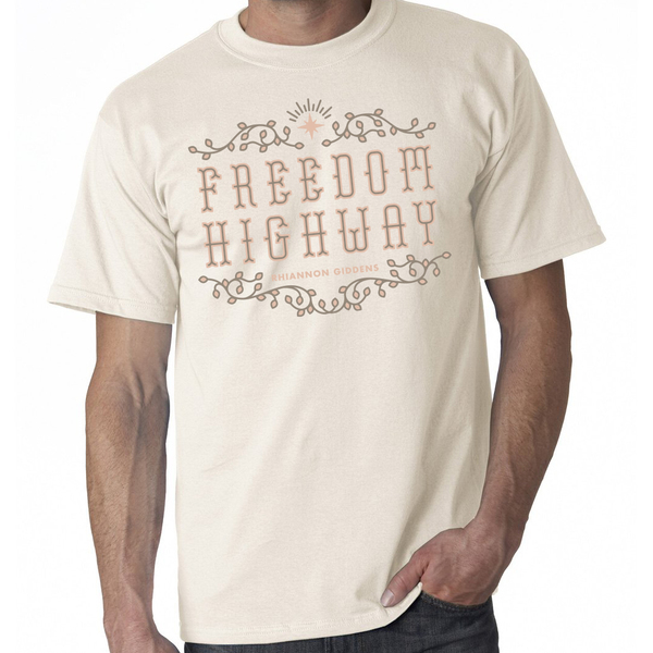 Freedom Highway Vanilla T Shirt