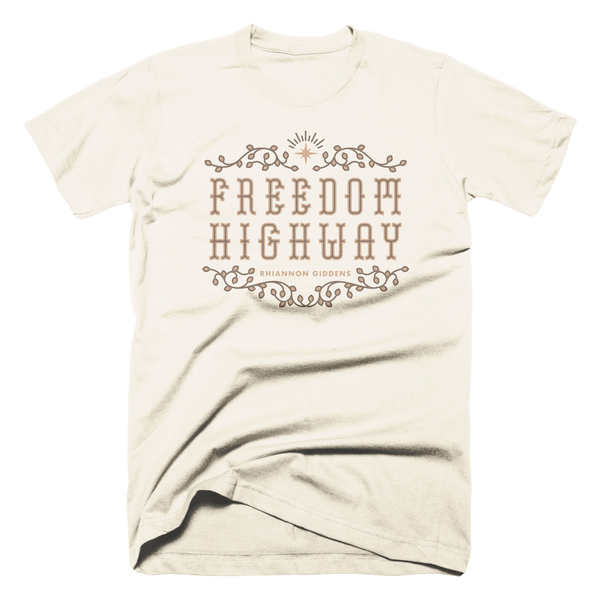 Freedom Highway Vanilla T Shirt