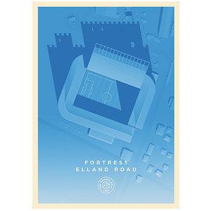 Fortress Elland Road A1 Poster