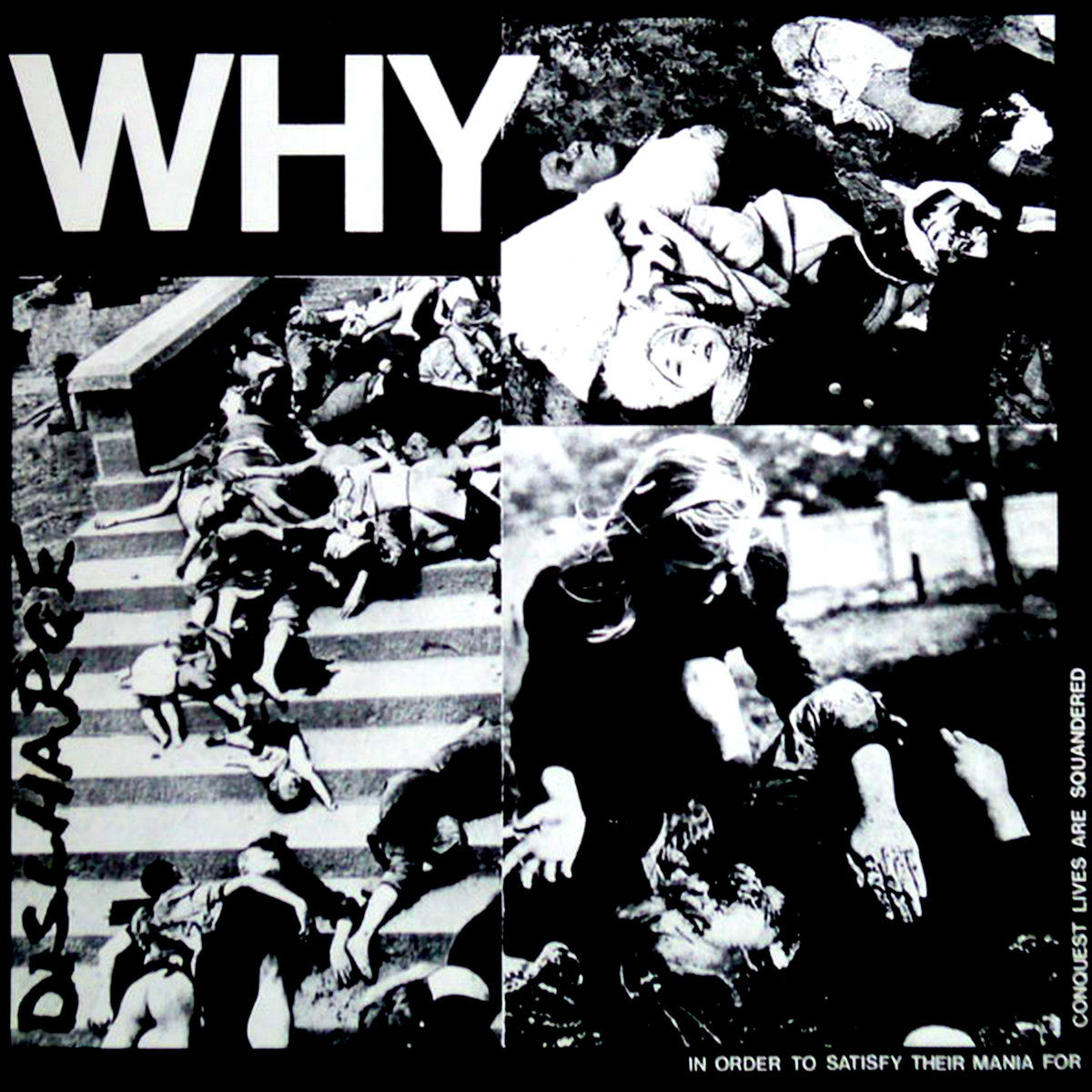 Discharge - WHY LP