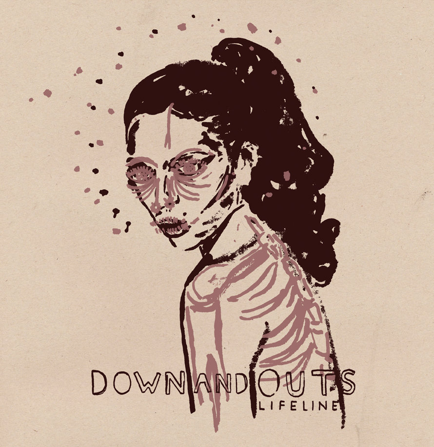 Down And Outs - Lifeline LP