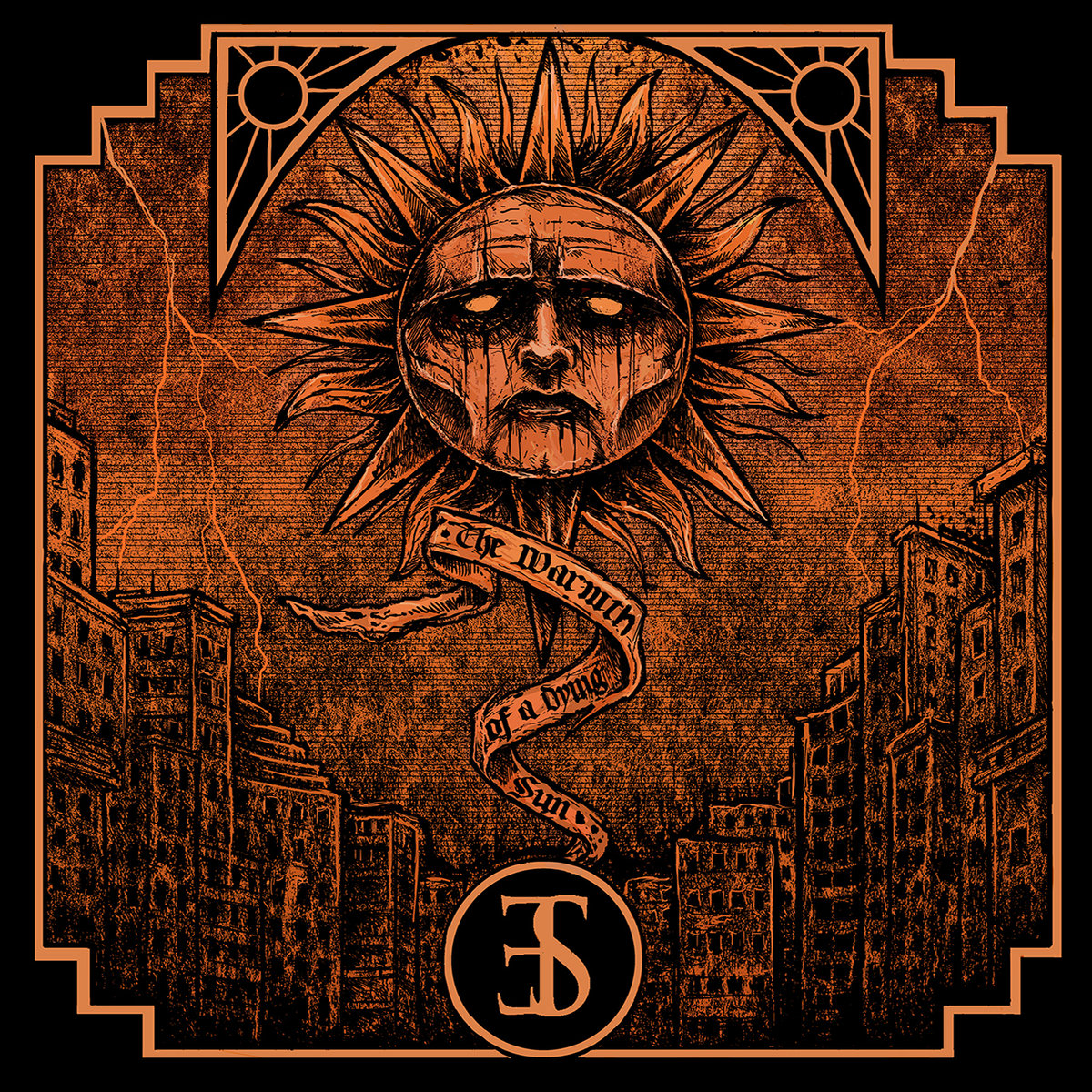 Employed to Serve - The Warmth of A Dying Sun LP