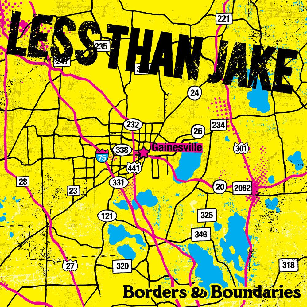 Less Than Jake - Borders & Boundaries LP