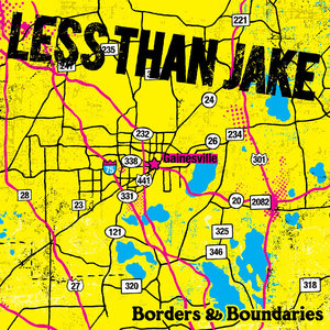 Less Than Jake - Borders & Boundaries LP