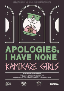 Apologies, I Have None and Kamikaze Girls at The Hope and Ruin