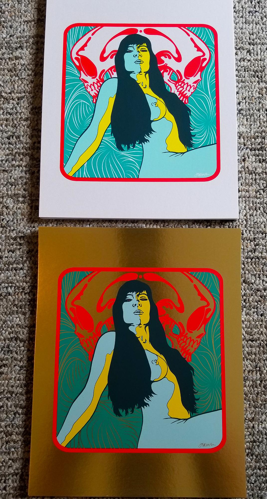 - New 'K. (in shadow)' Mini Art Print