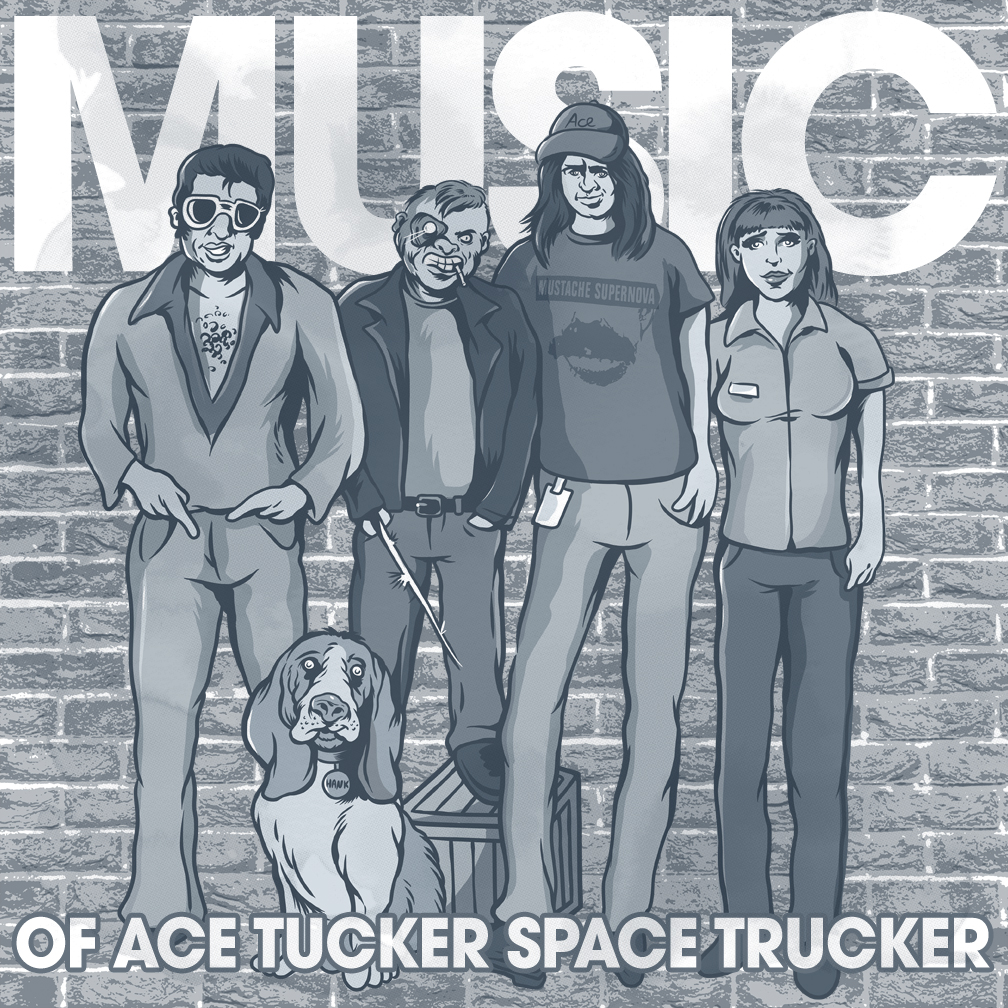 Music of Ace Trucker Space Trucker