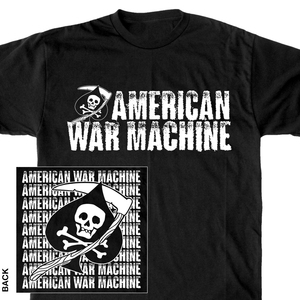 American War Machine 'Spade' T-Shirt