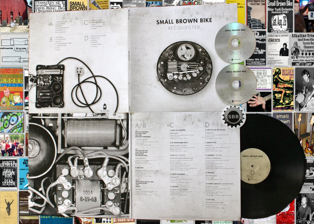 Small Brown Bike-Recollected 2xLP