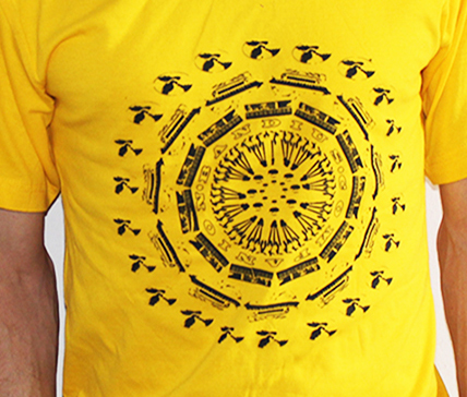 Ban Circle Yellow Shirt (SOLD OUT)