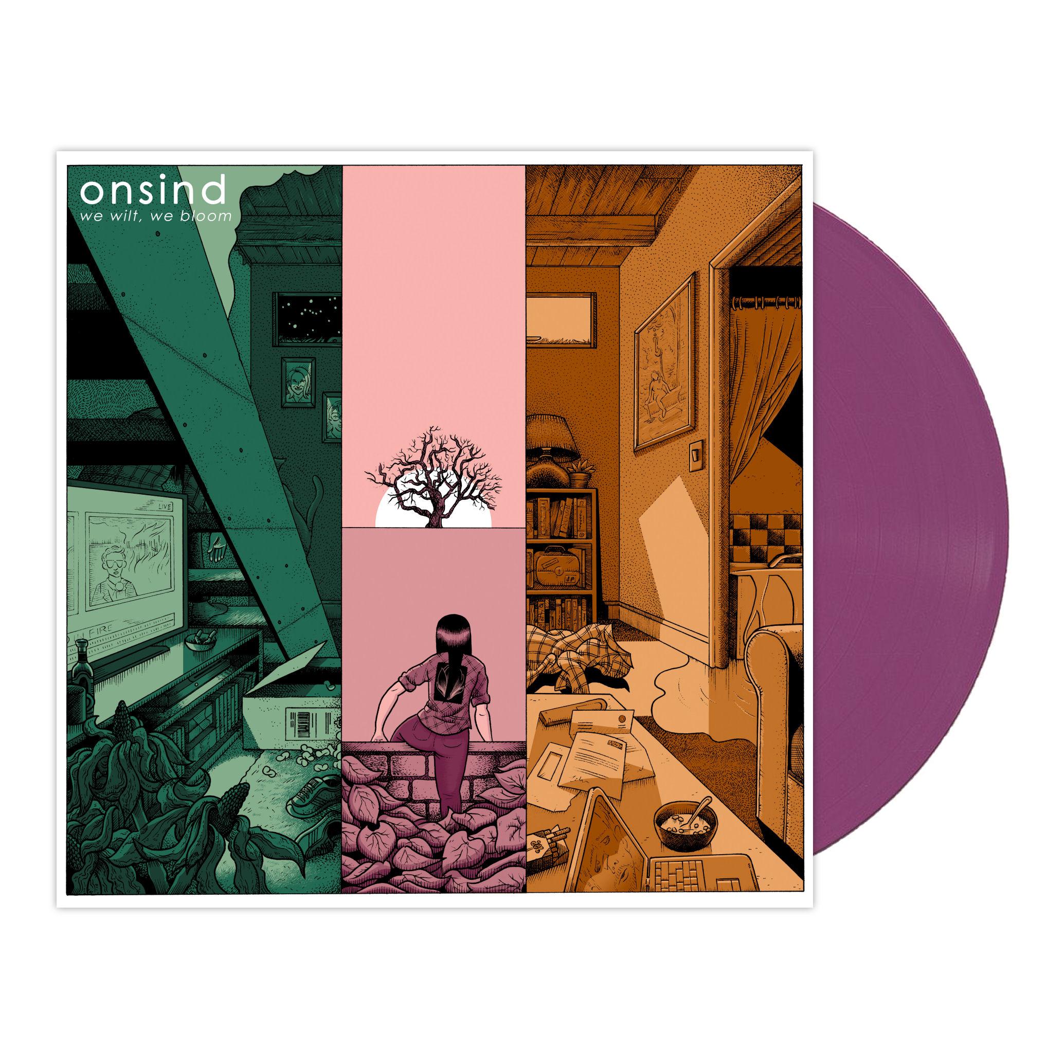 Onsind - We Wilt, We Bloom LP / CD