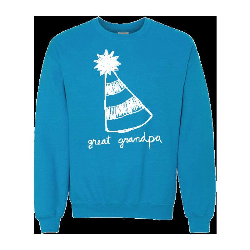 Party Hat Crewneck Sweatshirt